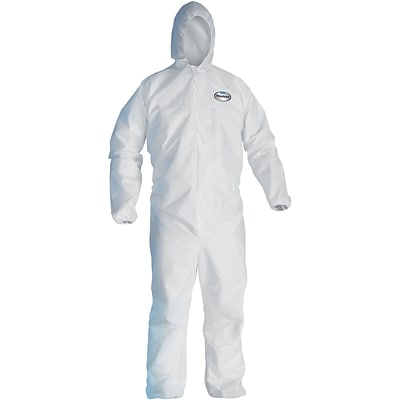 Kleenguard® Liquid & Particle Protection Coverall, A40, 3XL, Hooded, 25/Carton