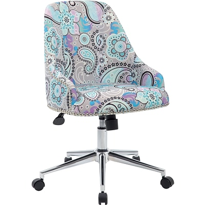 Boss® Carnegie Desk Task Chair; Paisley