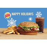 Burger King Gift Card $25