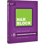 H&R Block 16 Deluxe + State for Windows/Mac (1 User) [Boxed]