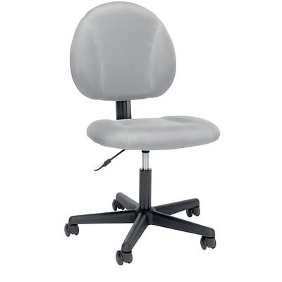 Essentials by OFM UpholsteRed Swivel Armless Task Chair (ESS-3060-GRY)