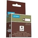 DYMO® Holiday Address Labels; Moose, Brown, 130/Roll