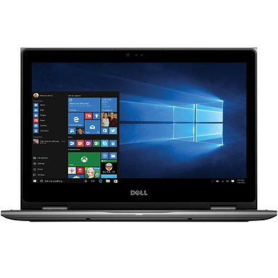 Dell Inspiron i5378-2885GRY 2-in-1 Laptop [13.3, 7th Generation Intel Core i5, 8GB RAM, 1TB HDD, Gray]