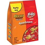 Kit Kat and Reeses Assorted Miniatures, 2.5 lb. Bulk