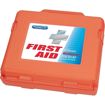 PhysiciansCARE® 173-Piece Weatherproof First Aid Kit