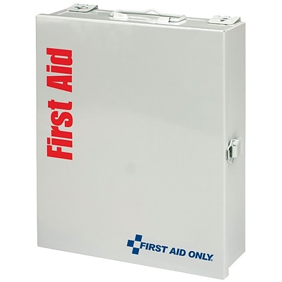 First Aid Only™ SmartCompliance™ Cabinets, Medium First Aid Kit, 113 Pieces