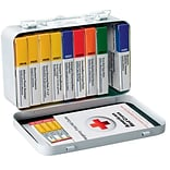 First Aid Only™ ANSI Metal First Aid Kit for up to 10 People (240-AN)