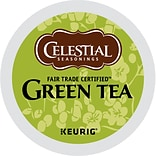 Celestial Seasonings® Green Tea, Keurig® K-Cup® Pods, 24/Box (14834)