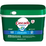 Cascade® Complete™ ActionPacs™ Dishwasher Detergent, Fresh Scent, 43/Pack