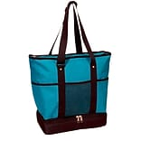 Deluxe Shopper Tote with Insulated Bottom