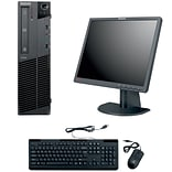 Refurbished Lenovo M91 SFF Desktop BUNDLED with 19in LCD Monitor Intel Core i3 3.1Ghz 8GB RAM 1TB HD