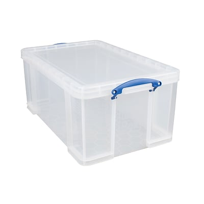 Really Useful Box® 64 Liter, Clear
