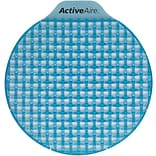ActiveAire® Low Splash Deodorizer Urinal Screen, Coastal Breeze , (WxDxH) 2.85 x 6.5 x 2, 12 Scre