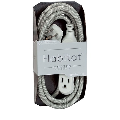 360 Electrical HabitatTM Braided Extension Cord