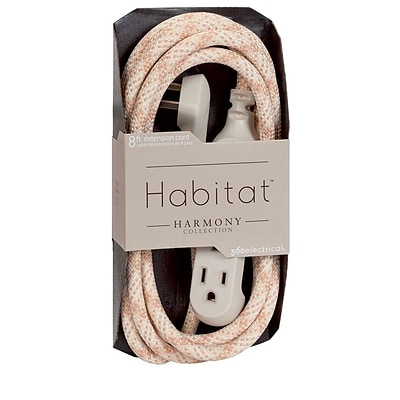 360 Electrical Habitat™ Braided Extension Cord (Harmony)(8 - Sugar Maple)