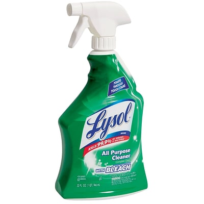 Lysol All Purpose Cleaner with Bleach, Spray, 32 oz. (78914)