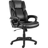 Quill Brand® Kelburne Luxura Office Chair, Black (50859)