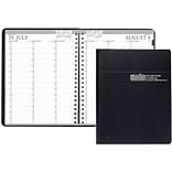 2018-2019 House of Doolittle Academic Weekly Planner, Vertical, Black, 8-1/2 x 11 (HOD-257202)