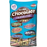 Mars® Chocolate Assorted Miniatures, 40 oz....