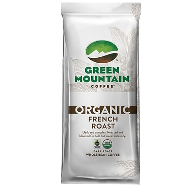 Green Mountain Coffee® Organic French Roast Whole Bean Bagged Coffee