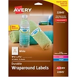 Durable Wraparound Labels, 9-3/4 x 1-1/4