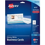 Photo-Quality Inkjet Glossy Business Cards