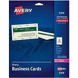 Avery Ivory Business Cards