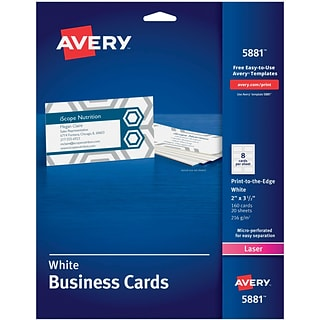 Business card paper for all companies quill reheart Image collections