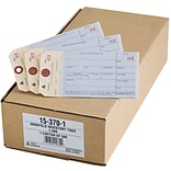 Manifold Tags, 1-500 Series, 6-1/4x3-1/8,Manila, 500/Box (15370)