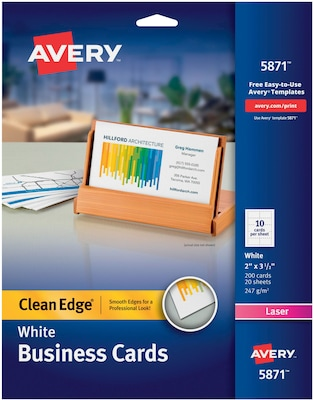 5871 avery template