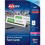Avery® Medium Tent Cards