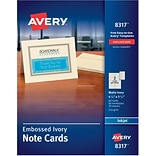 Avery® Embossed Note Cards w/Envelopes