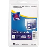 Avery 1-1/2x1 Print/Write Multi-Use Labels