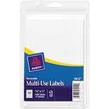 Avery® 5412 Multiuse ID Labels, 5/16H x 1/2L, 1,000/Pack