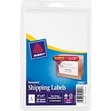 Avery® 5292 White Laser/Inkjet Shipping Labels with TrueBlock, 4 x 6, 20/Pack