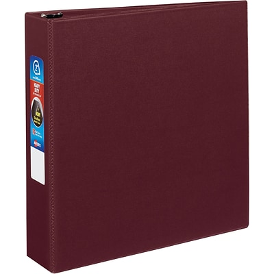 Avery® Heavy-Duty One Touch EZD™ 2 3-Ring Binder; Non-View, Maroon