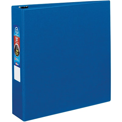 Avery® Heavy-Duty One Touch EZD™ 2 3-Ring Binder; Non-View, Blue
