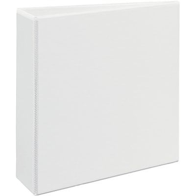 Avery® Heavy-Duty View Binder with 3 One Touch EZD™ Rings; White