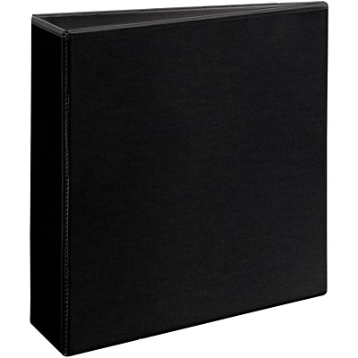 Avery® Heavy-Duty View Binder with 3 One Touch EZD™ Rings; Black