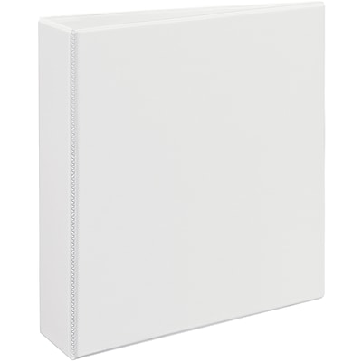Avery® Heavy-Duty View Binder with 2 One Touch EZD™ Rings; White