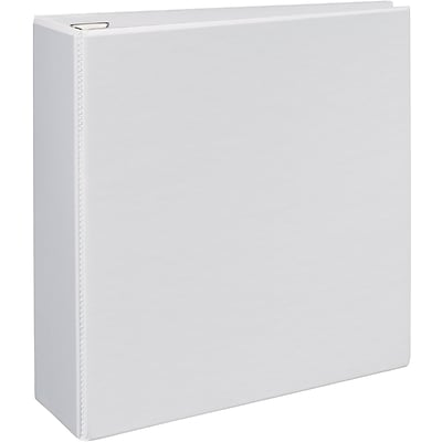 Avery® Heavy-Duty View Binder with 4 One Touch EZD™ Rings; White