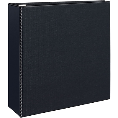 Avery® Heavy-Duty View Binder with 4 One Touch EZD™ Rings; Black
