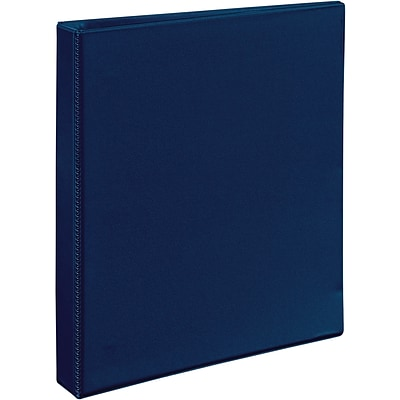 Avery® Heavy-Duty View Binder with 1 One Touch™ EZD™ Rings; Navy Blue