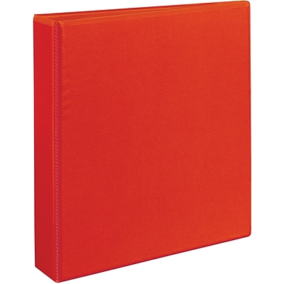 Avery® Heavy-Duty View Binder with 1-1/2 One Touch EZD™ Rings; Red