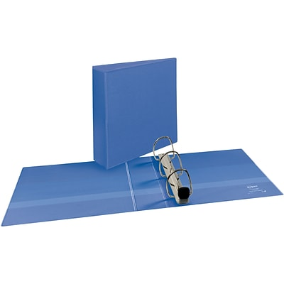 Avery® Heavy-Duty View Binder with 3 One Touch EZD™ Rings, Periwinkle