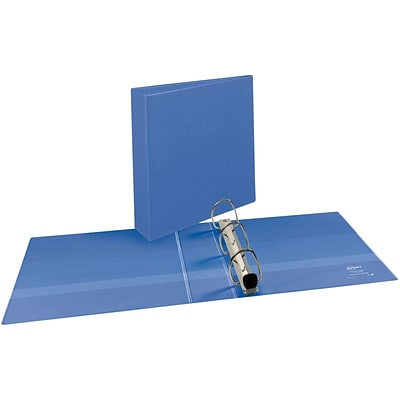 Avery® Heavy-Duty View Binder with 2 One Touch EZD™ Rings; Periwinkle