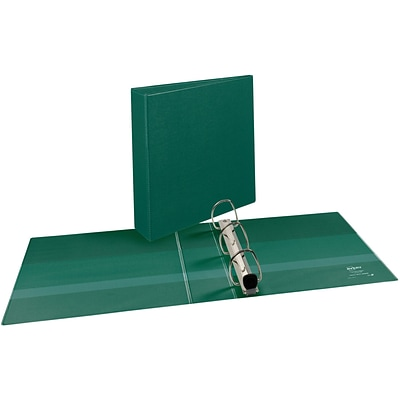 Avery® Heavy-Duty View Binder with 2 One Touch EZD™ 2 Rings; Green