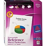 Avery® Heavyweight Non-Glare Sheet Protectors, 200/Pack