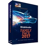 Bitdefender Family Pack 2017 Unlimited Users 1 Year for Windows/Mac (1-1000 Users) [Download]