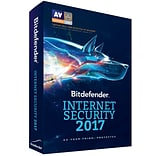 Bitdefender Internet Security 2017 10 Users 1 Year for Windows (1-10 Users) [Download]
